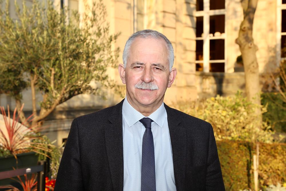 André VILLIERS, député de l'Yonne, agriculteur de profession