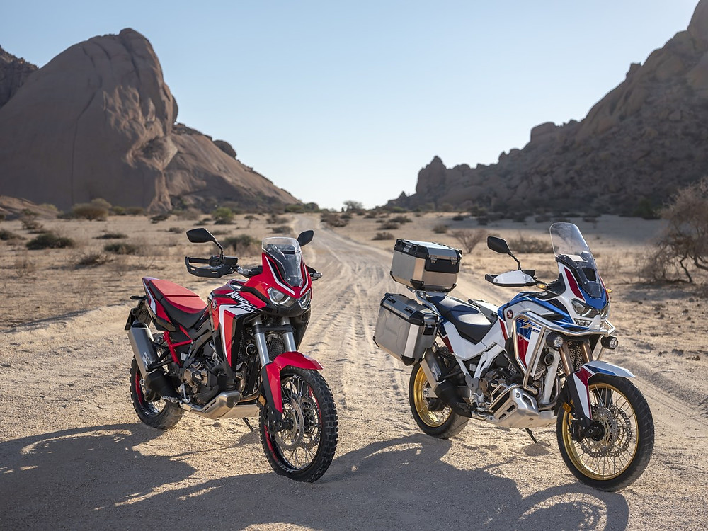 Africa Twin 2020 location envie2rouler deux versions