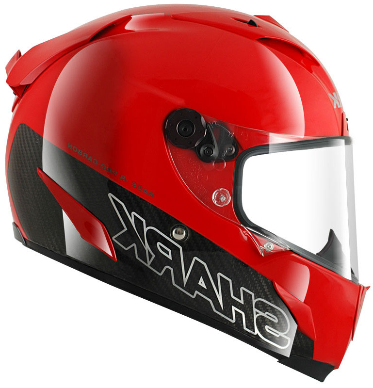 casque moto shark rouge