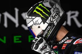 Motorcycle pilot monster helmet