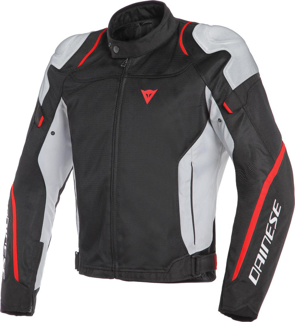 Veste moto Dainese rouge noir blanc