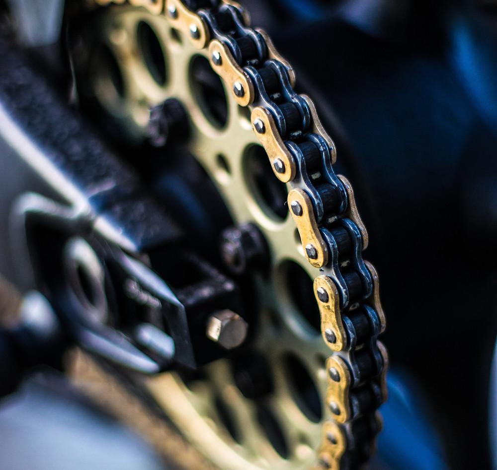Envie2rouler chaine moto entretien hivernage