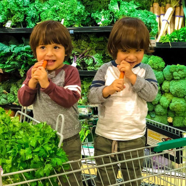 Kids vs. Kids. What happens when a child who eats healthy meets one who does not?
