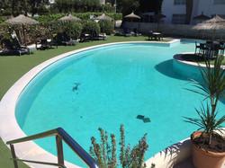 have fun in Laguna's gigantic pool
