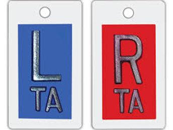 Lead Letters L & R