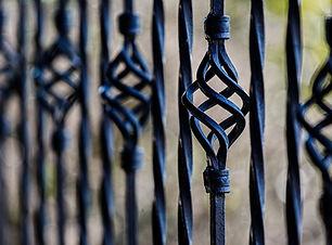 Recinzione in ferro installazione
