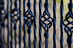 Забор Установка Железо
