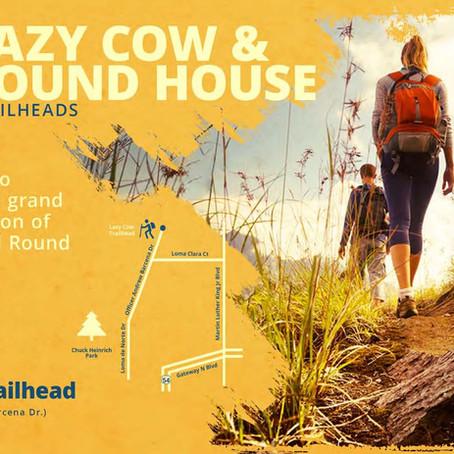 Lazy Cow & Round House Trailheads