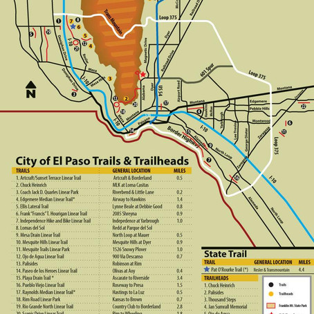 Existing El Paso trails are a great place to get moving!