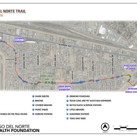 Playa Drain Trail Map and Amenities