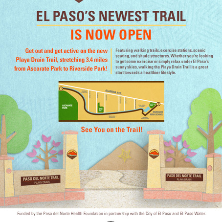 El Paso's Newest Trail is Now Open!