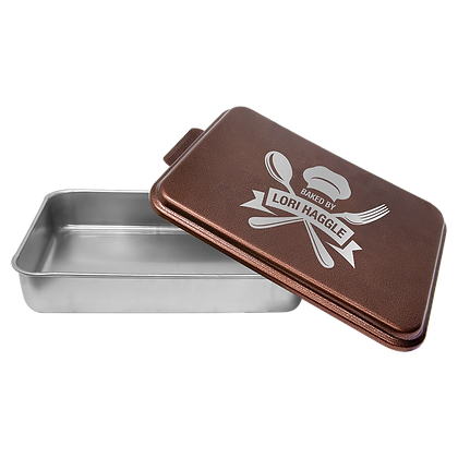 Copper Personalized  9 x 13 Cake Pan
