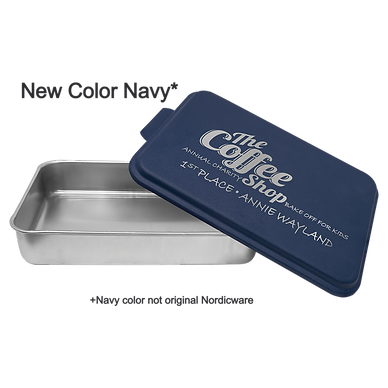 Navy Blue Personalized  9 x 13 Cake Pan Non Branded