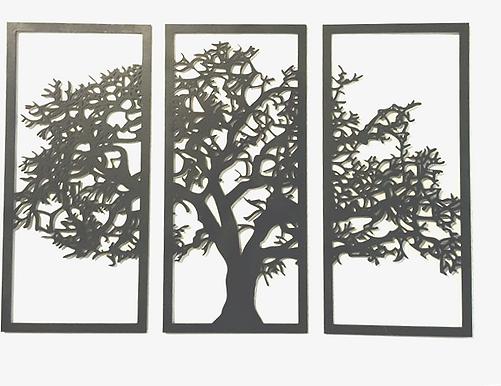 Three Piece Tree Panel Set
