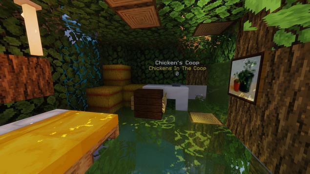 Chicken's Bedroom