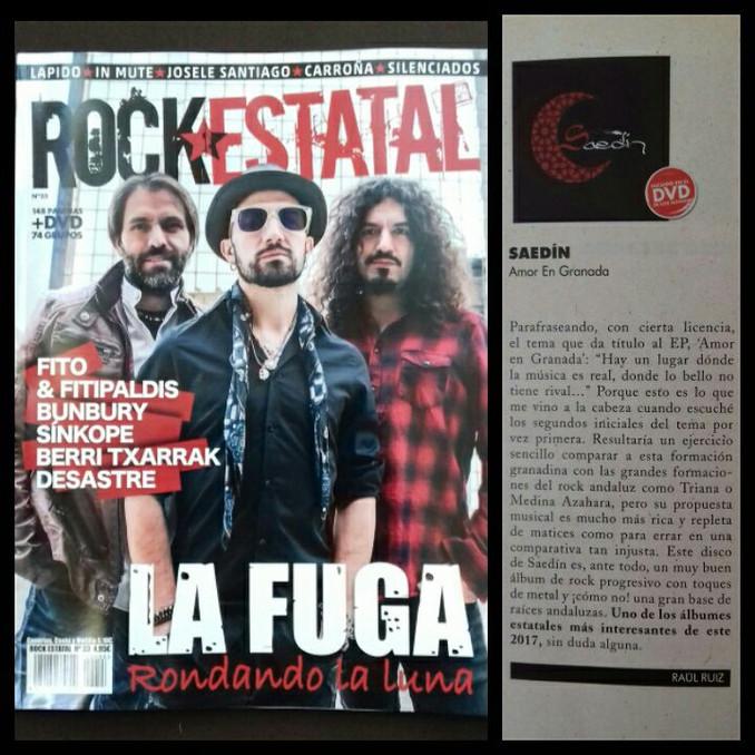 Reseña/Crítica Revista Rock Estatal nº33