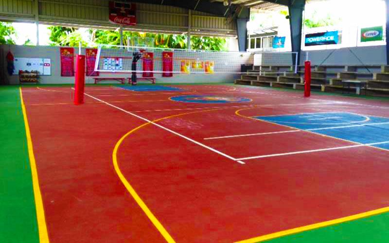 Cancha Bajo Techo Academia San Ignacio
