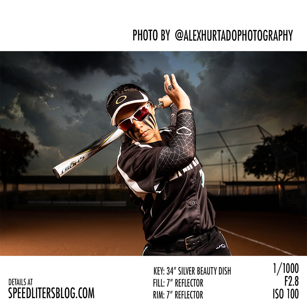 Photographer Alex Hurtado shoots dramatic sports portraits with Canon 5dMark IV, Godox AD600, Glow