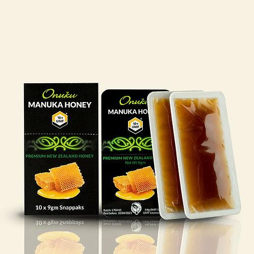 Onuku Manuka Honey UMF 10+ Snappak 10pk