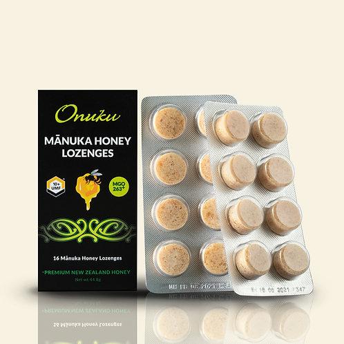 Onuku Manuka Honey UMF 10+ Lozenges 16pk