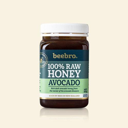 Beebro Raw Avocado Honey 500g