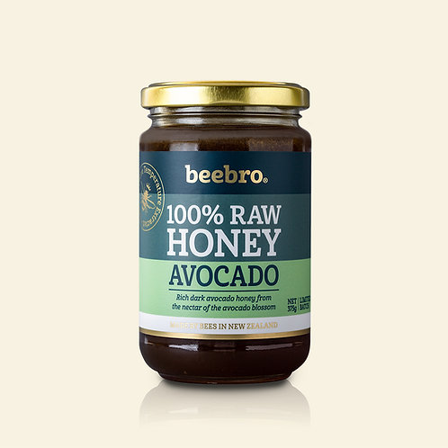Beebro Raw Avocado Honey 375g