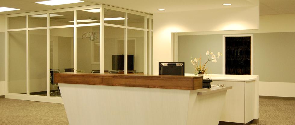 Reception Desk Millwork
