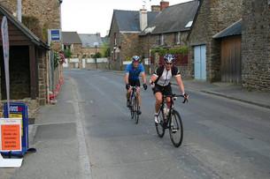 Rob and Nick - St Malo to Nice 2014