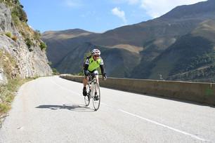 Descending off Col du Glandon - Alps 2016