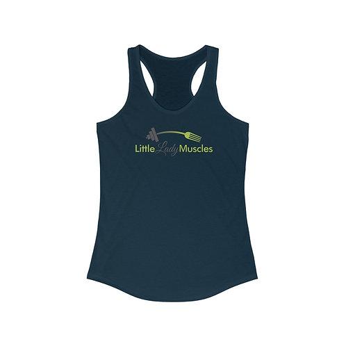 Women's Racerback Tank - I AM IDEAL
