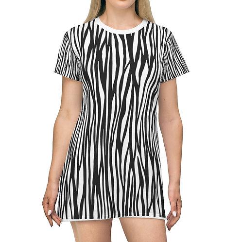 T-Shirt Dress - ZEBRA SPIRIT