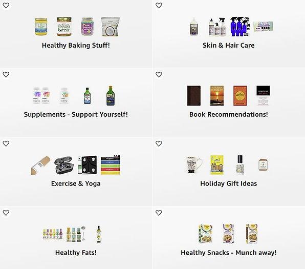 Amazon Influencer Idea Lists Snapshot.JP