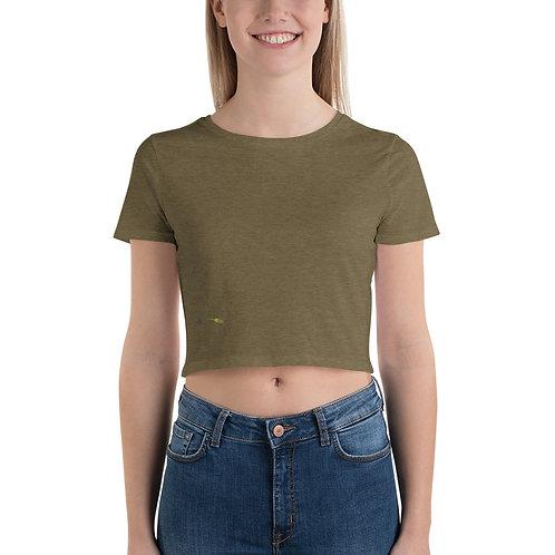 Women's Crop Tee - I AM SHORTY