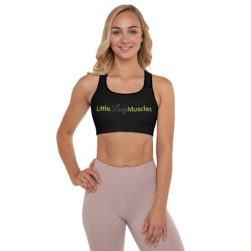 Padded Sports Bra - I AM SUPPORTED TOO