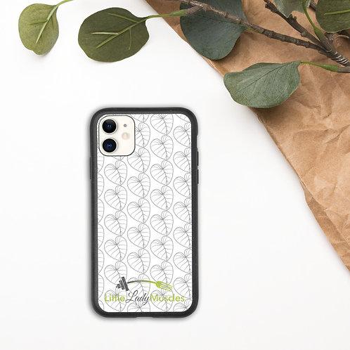 I AM BIODEGRADABLE iphone case (Clear Case)