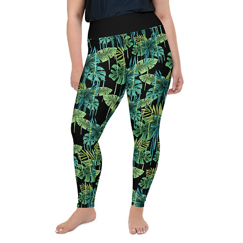 Pus Size Leggings - I AM TROPICAL