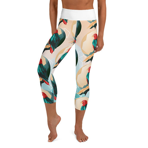 Capri Leggings - PARROT SPIRIT