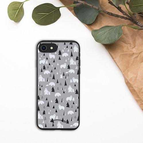 Biodegradable I-phone case - I AM POLAR