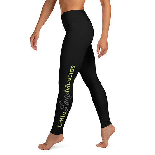Yoga Leggings - I AM FEARLESS