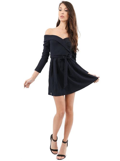 Off-Shoulder Dress- I AM CHIC