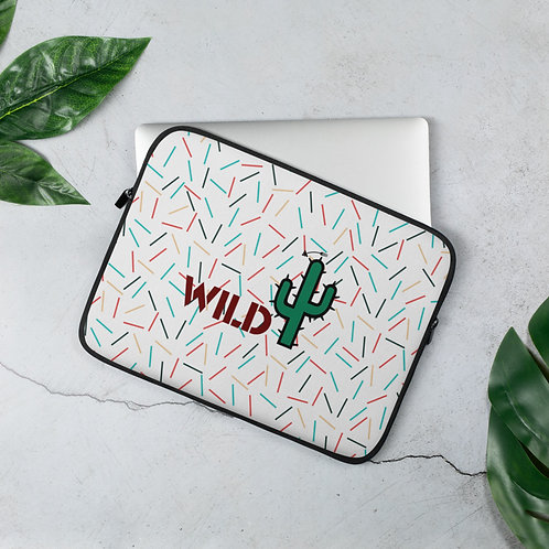 Laptop Sleeve - I AM WILD