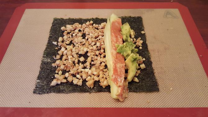 Cauliflower Sushi Rolls - Low Carb