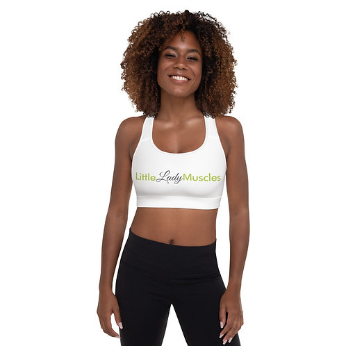 Padded Sports Bra - I AM SUPPORTED