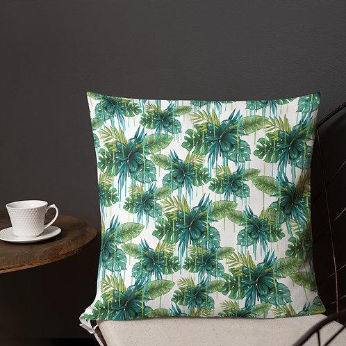 Premium Throw Pillow - I AM TROPICAL