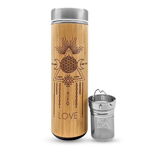 Bamboo Tumbler Mug- LOVE