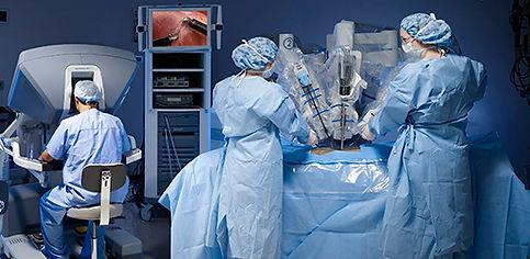 Chirurgie robotique (DaVinci)