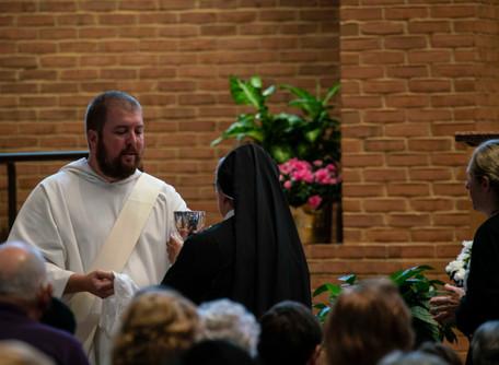 Deacon Max Begins Priesthood Preparation Retreat