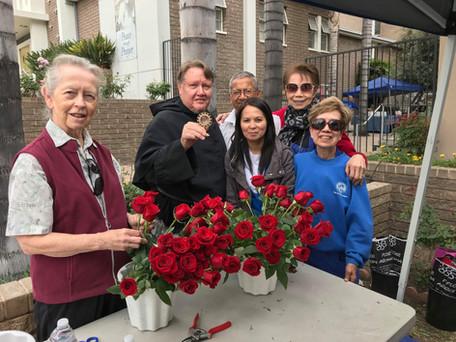 OMGC Community Celebrates St. Rita's Day