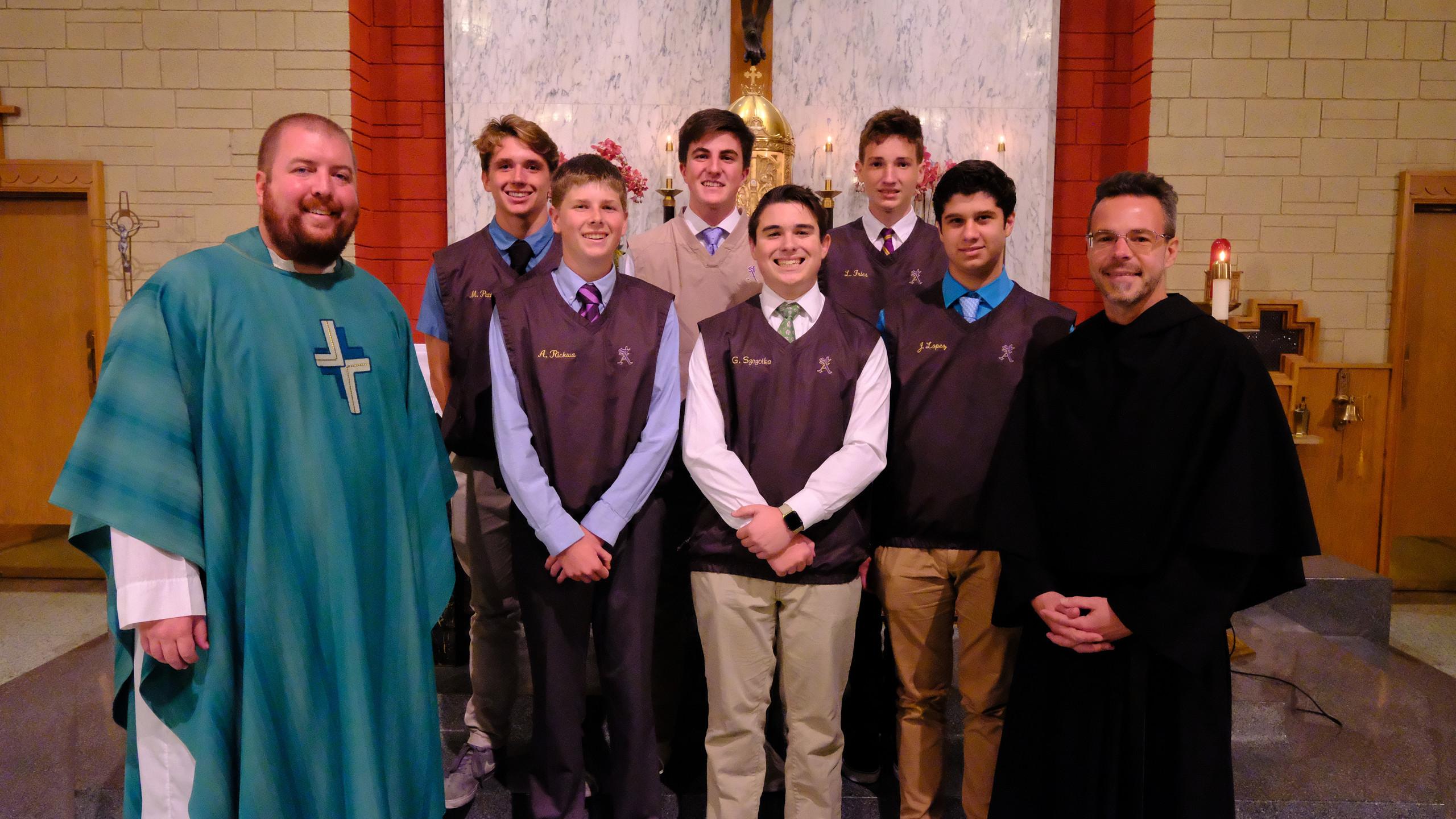 Saints Delegation