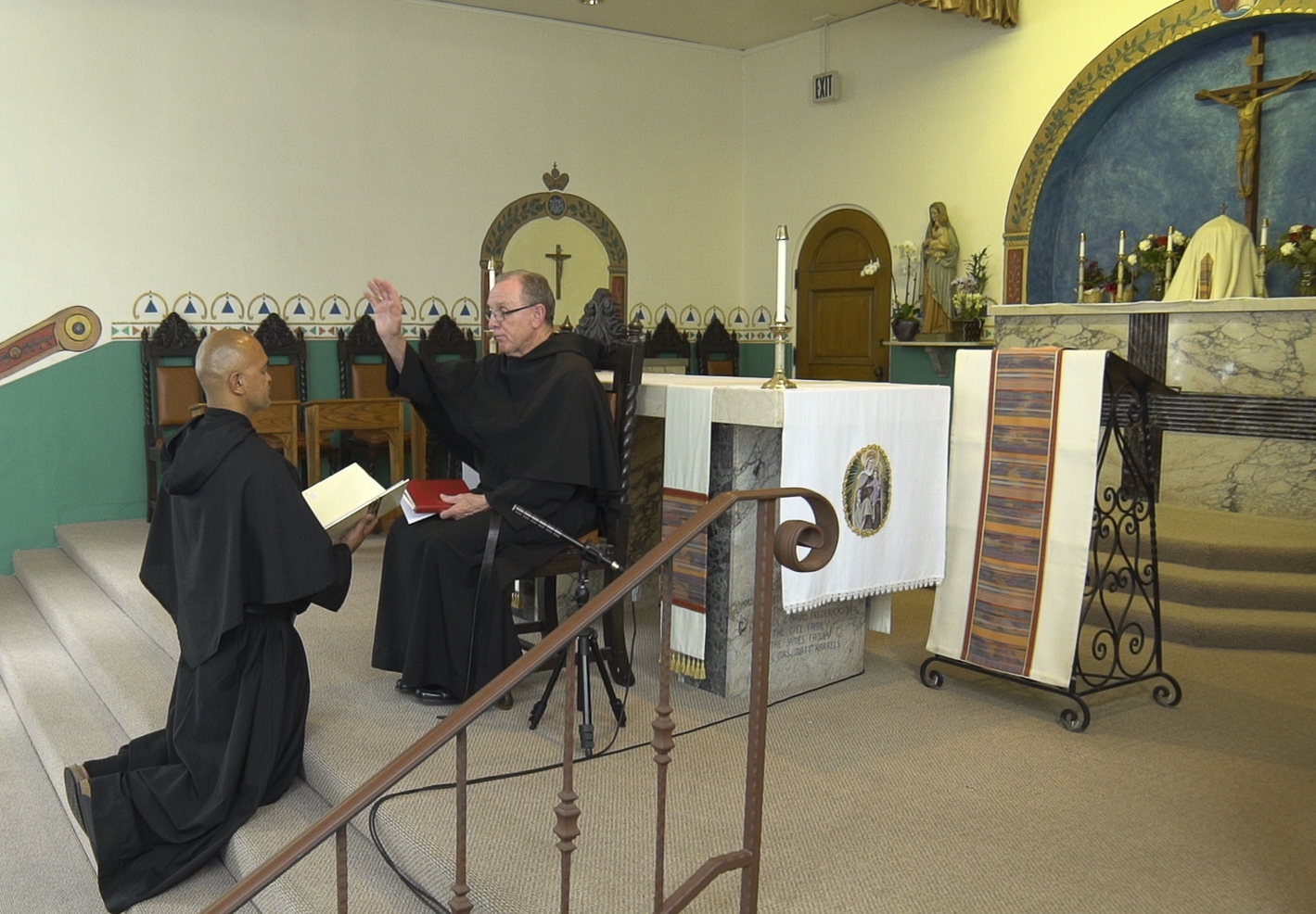 Br. Dominic Professes his Vows